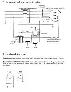 Schema di collegamento Elettrico
