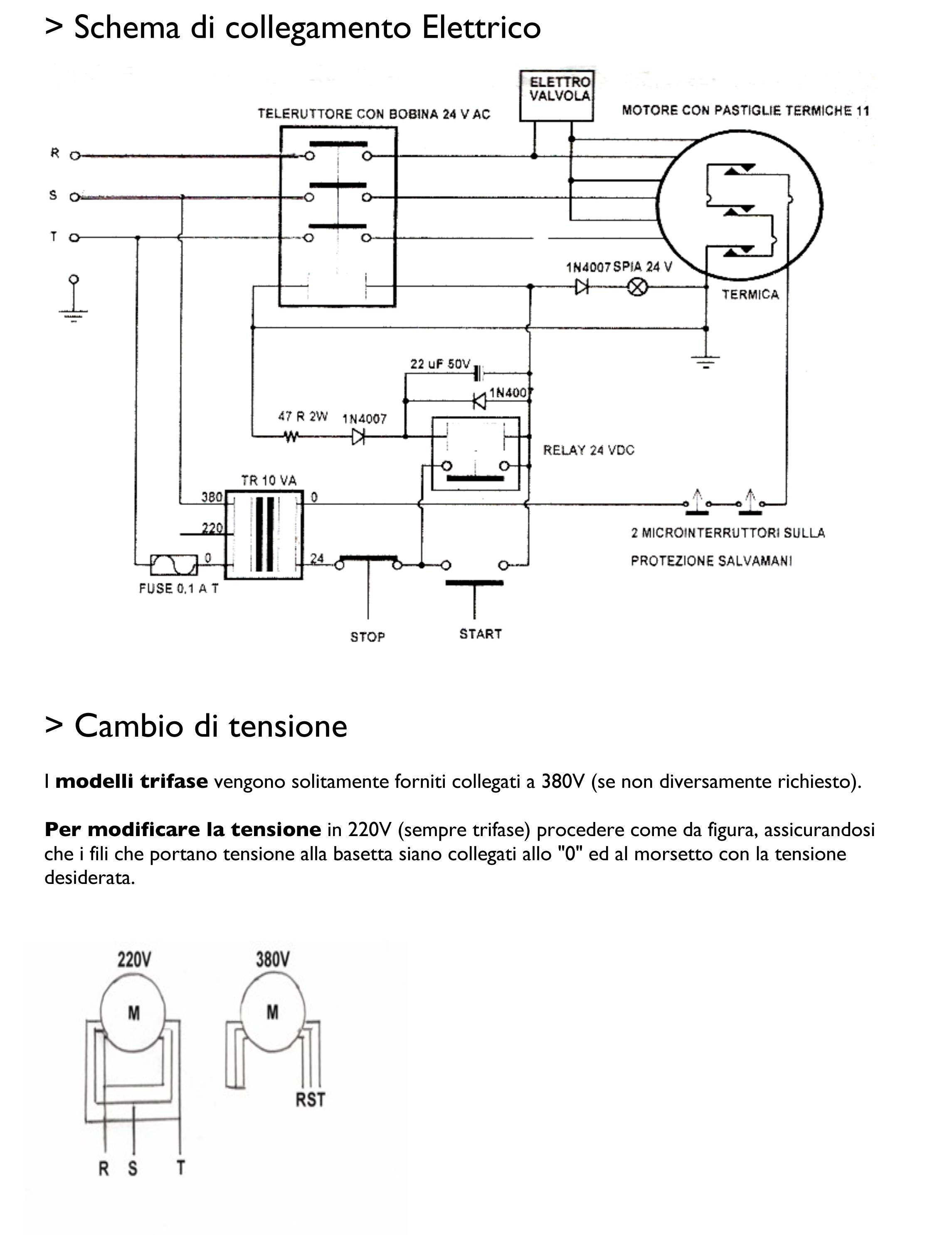 Schema Elettrico Industriale : Dissipatore tritarifiuti industriale mod vm